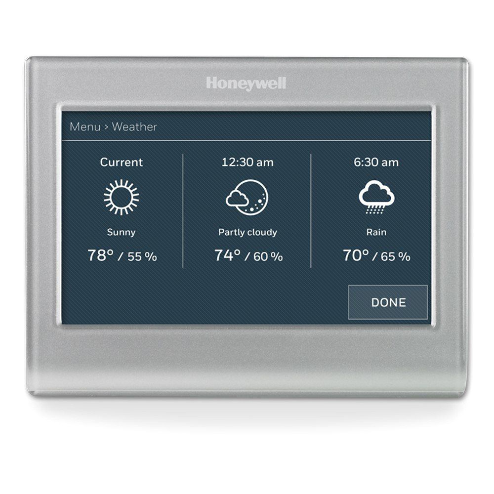 honeywell rth9585wf1004 wi fi smart color 7 day programmable thermostat