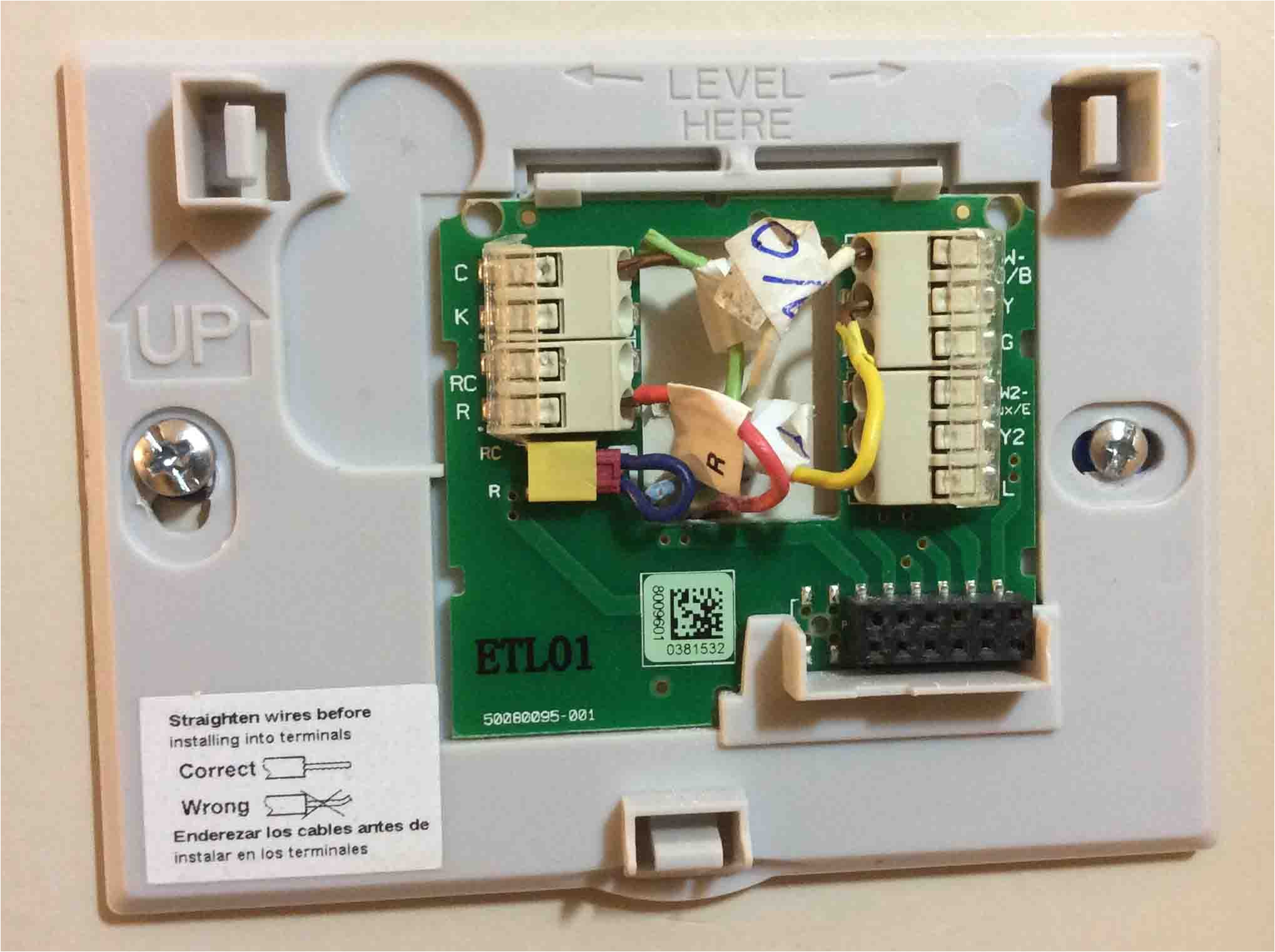 4 wire thermostat wiring color code tom s tek stop honeywell thermostat chronotherm iv plus wiring diagram