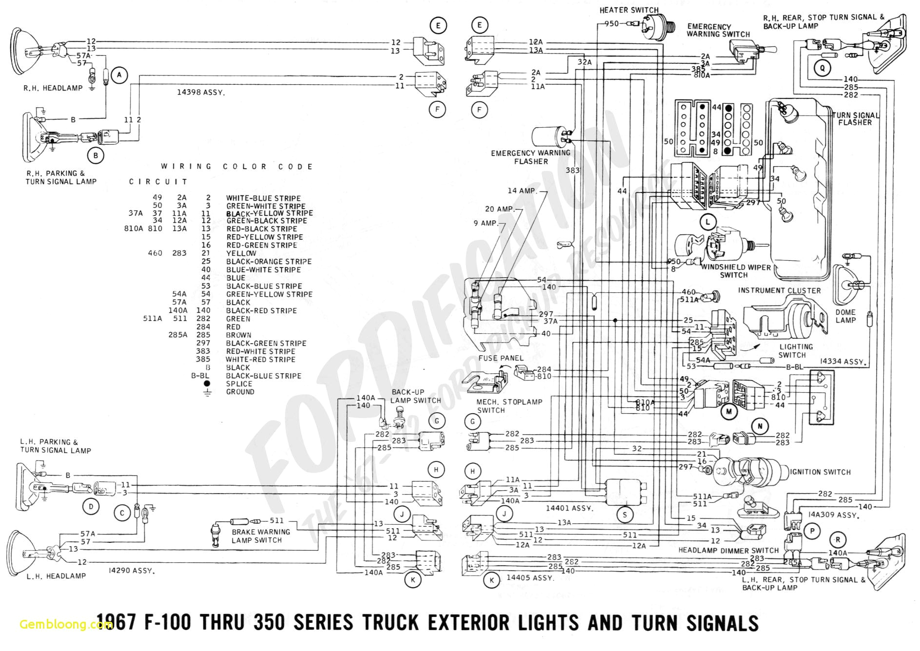 download ford trucks wiring diagrams ford f150 wiring