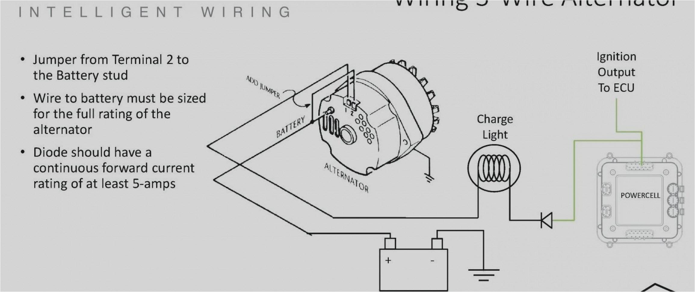 alternator wiring diagram chevy