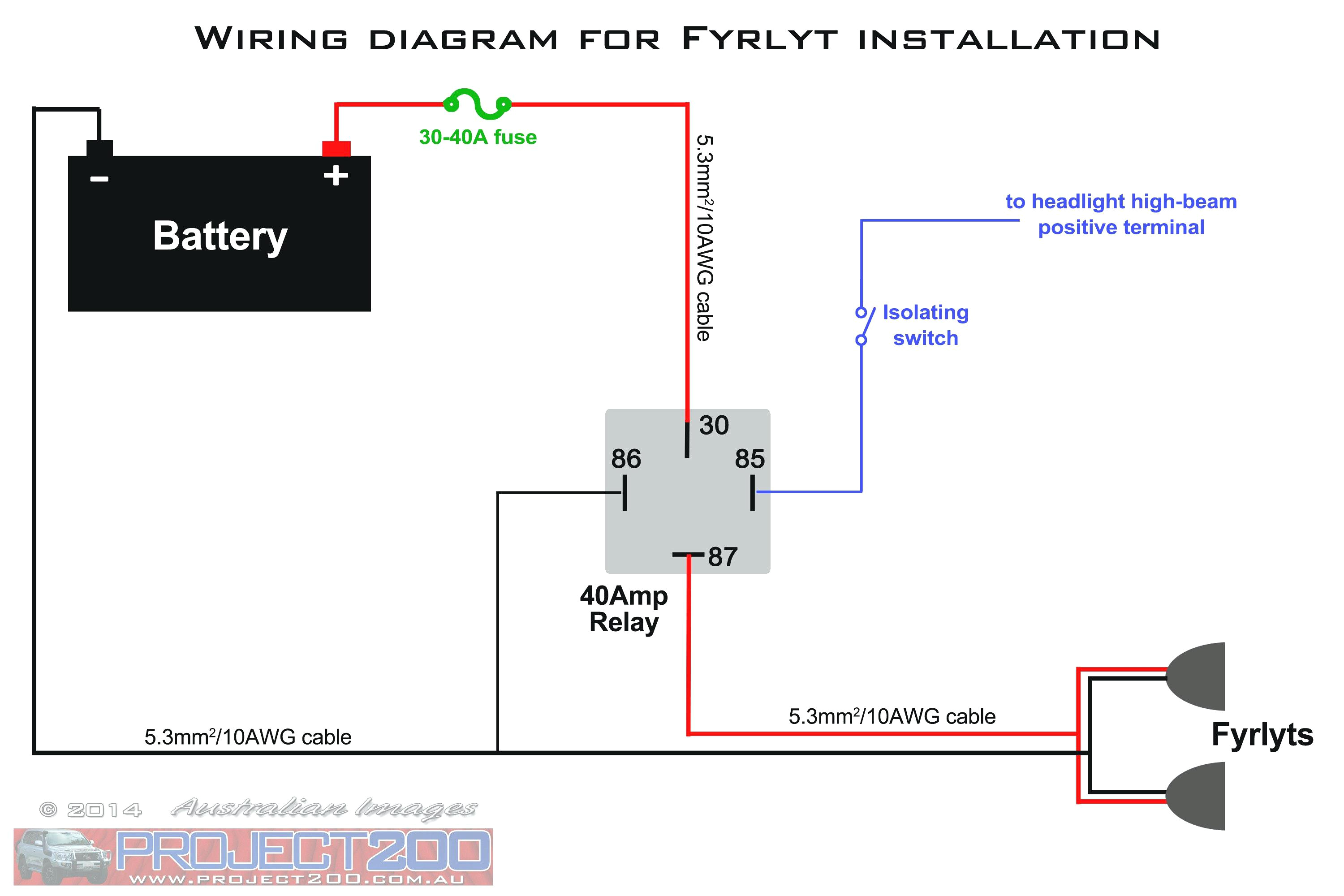 wiring diagram spotlights to main beam furthermore light relay all relay wiring diagrams