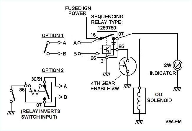 wiring diagram for 12v relay new electrical relay wiring diagram new sw em od retrofitting a
