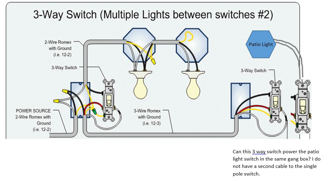 wiring 3 light switches in series also double pole switch wiring2 way pole switch wiring schema