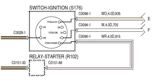 6 terminal ignition switch wiring mercury marine ignition switch wiring diagram luxury ignition switch 6 terminal