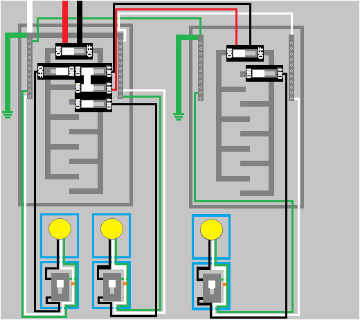 electrical sub panel and ground rod installation high install ground bar in subpanel wiring ground in subpanel