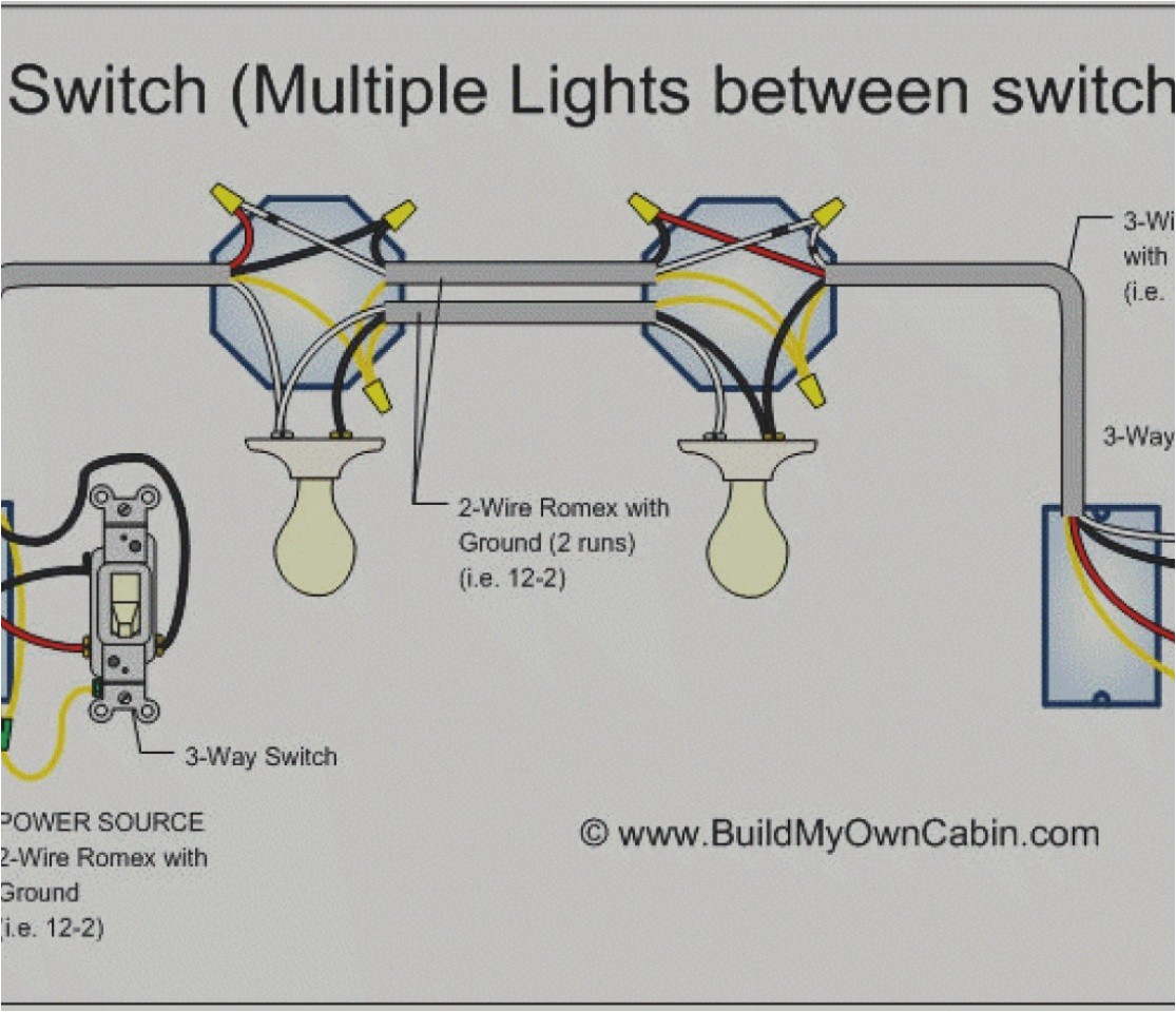 How to Wire Two Lights to One Switch Diagram Wiring Diagram for Dimmer Switch Single Pole Free Download Wiring