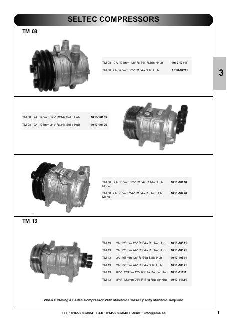 seltec compressor parts ama air conditioning jpg