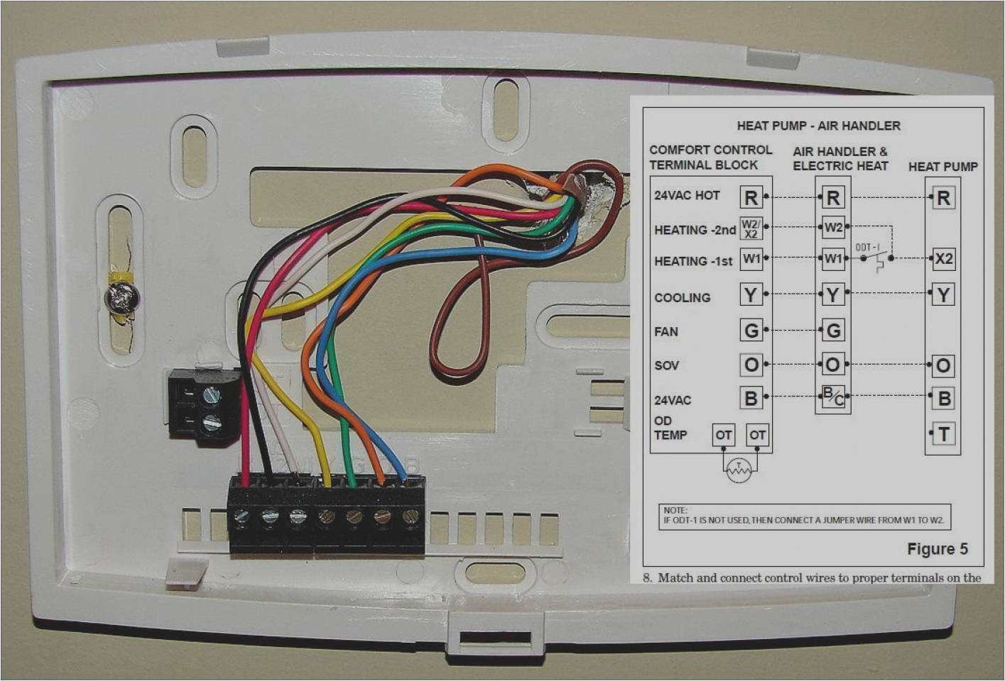hunter 44360 wiring diagram inspirational honeywell 6 wire thermostat wiring diagram download wiring diagrams