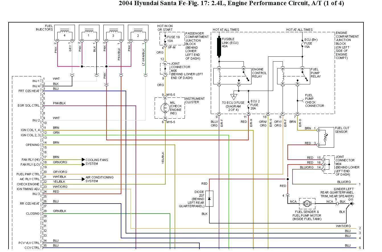 wiring diagram for 2004 hyundai santa fe wiring diagram compilation