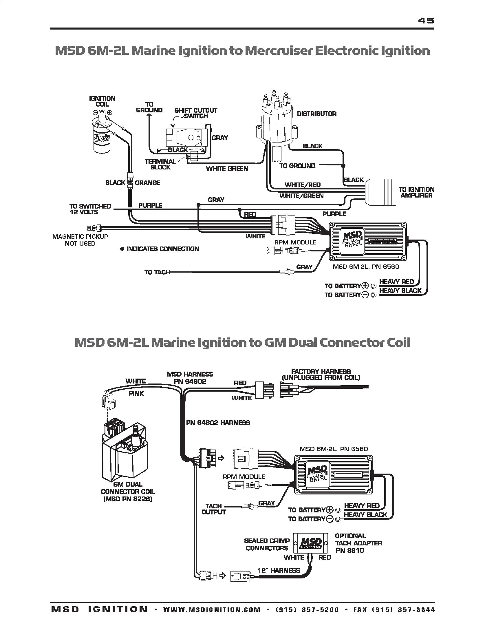 msd coil wire diagram wiring diagram datasourcegm dual connector coil wiring wiring diagrams konsult msd ignition