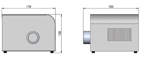 cad image of nova fiber optic illuminator