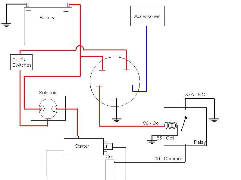 5 pin ignition switch wiring diagram