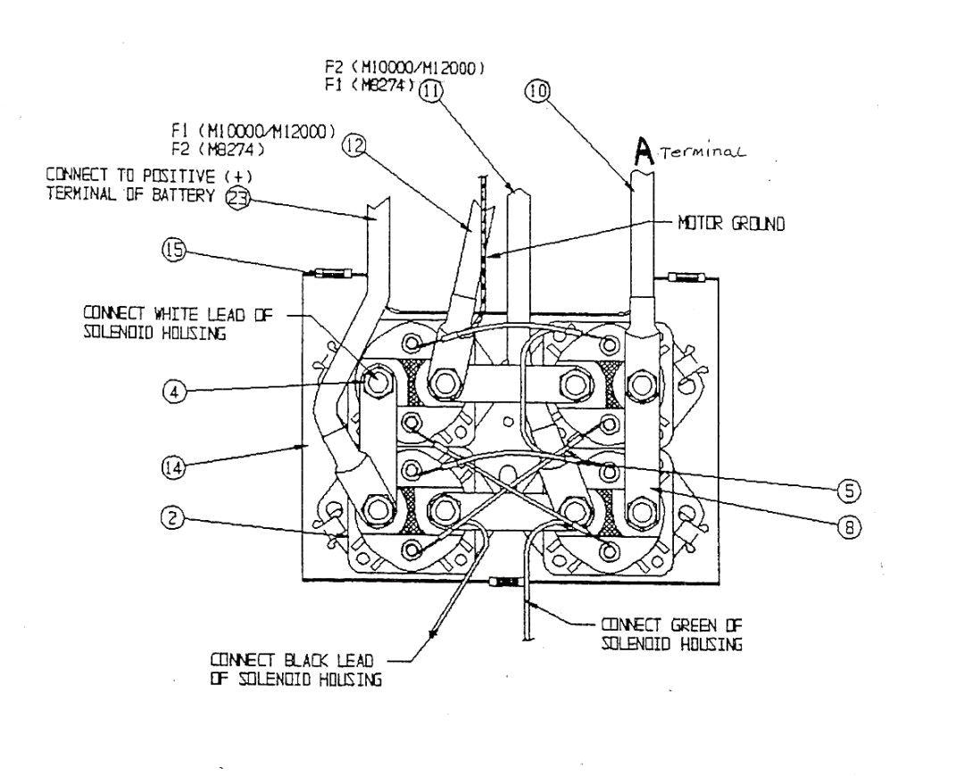 ramsey winch solenoid diagram wiring diagram datasource 2 solenoid winch wiring diagram
