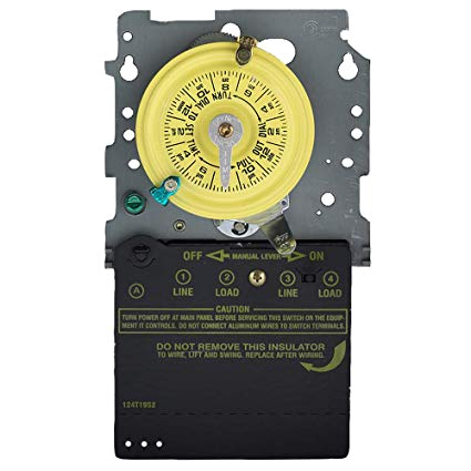 intermatic t104m mechanical time switch mechanism only wall timer switches amazon com