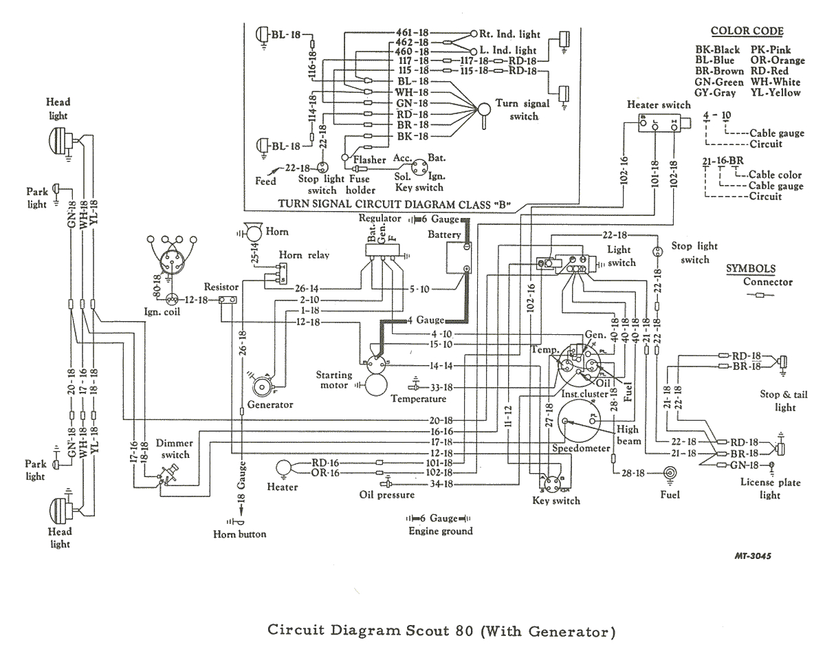 International Scout Ii Wiring Diagram 1962 Ih Scout 80 Wiring Diagram Wiring Library