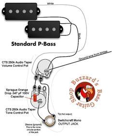 p bass wiring diagram bass logo fender precision bass guitar diy guitar