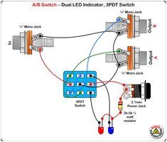 3pdt wiring dpdt wiring 3pdt switch dc jack led guitar pedal switching 3pdt switch no dc jack led guitar pedal switc