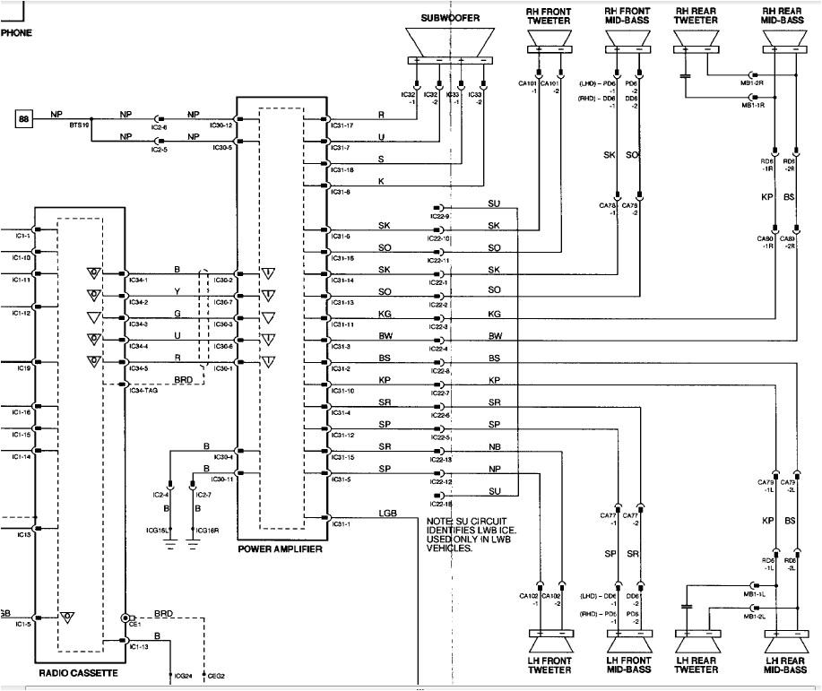 jaguar stereo wiring wiring diagram post jaguar radio wire harness diagram