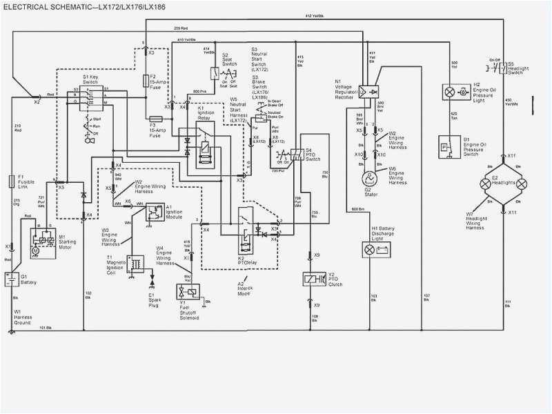 john deere wiring schematic wiring diagram listjohn deere la145 wiring diagram wiring diagram img john deere