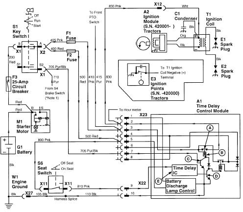 wiring diagram for a john deere tractor on john deere 180 wiringjohn deere lawn tractor electrical