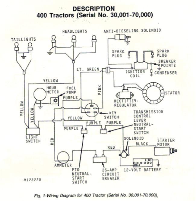 john deere 400 wiring diagram 1 wiring diagram source john deere 4000 wiring diagram john deere 400 wiring diagram