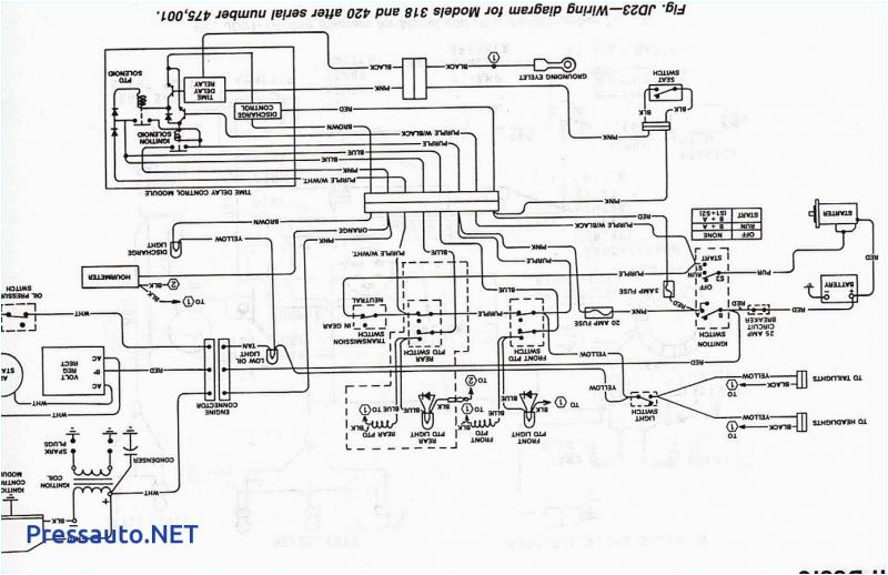 john deere 318 ignition wiring diagram wiring diagramsjohn deere 318 wiring wiring diagram compilation jd 318