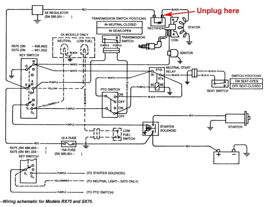 John Deere Lx172 Wiring Diagram John Deere 345 Wiring Harness Schematic Wiring Diagram