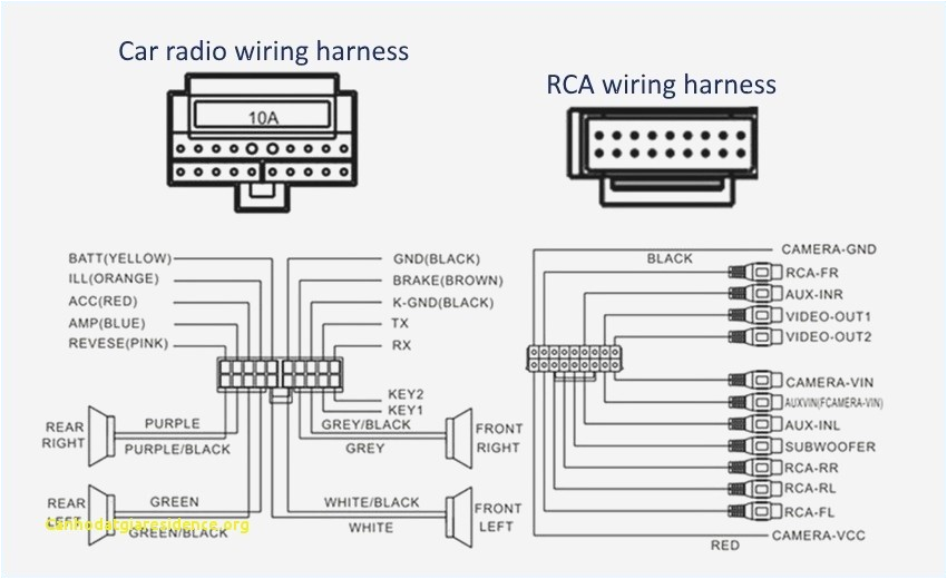 Jvc Wiring Diagram Pioneer 4400bh Car Radio Wiring Harness Wiring Diagram Datasource