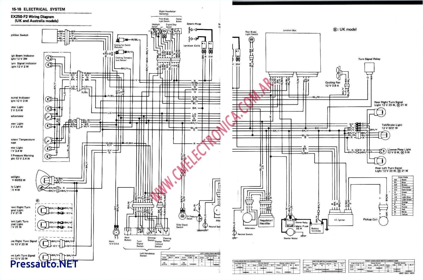 ex250 wiring diagram wiring diagram user ex250 wiring diagram