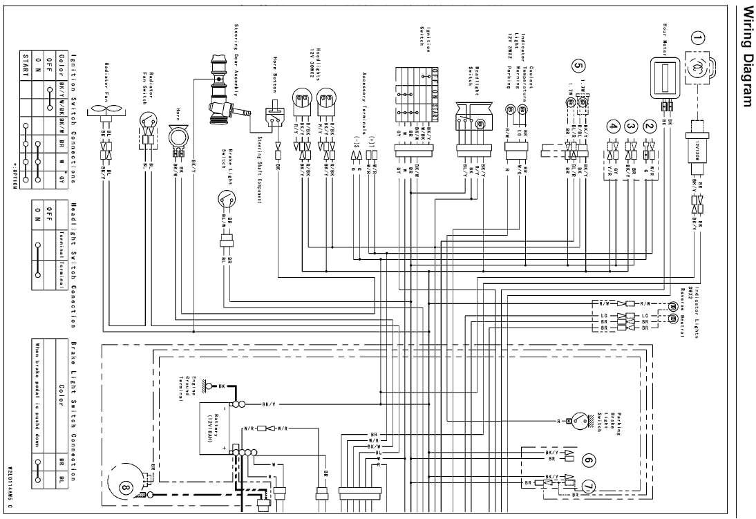 Kawasaki Mule 610 Wiring Diagram Mule 600 Wiring Diagram Wiring Diagram Centre
