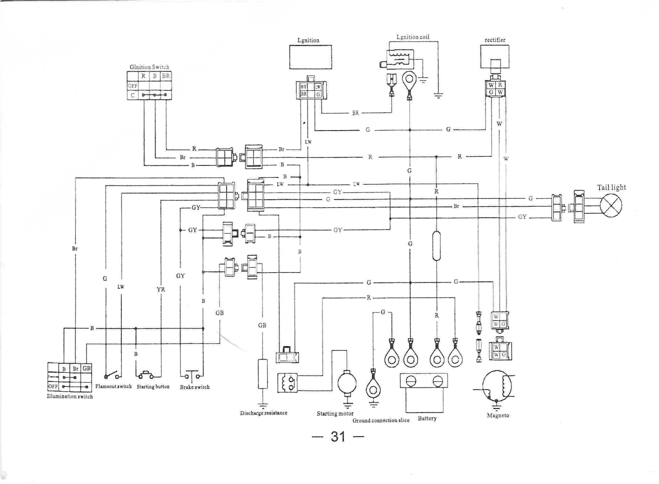 kazuma 50cc atv connection diagram