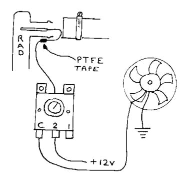 adjustable fan controller thermostat
