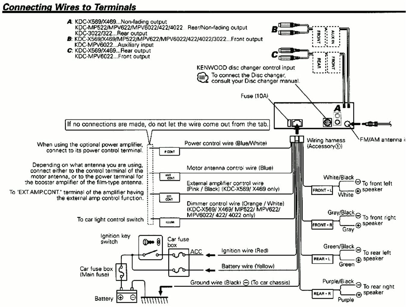 gallery of kenwood kdcmp345u wiring diagram