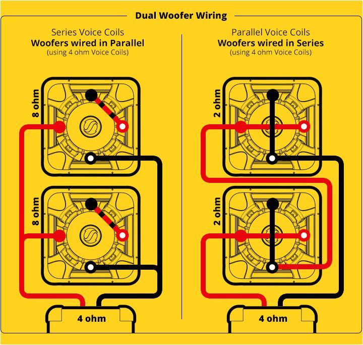 subwoofer speaker u0026 amp wiring diagrams kicker kicker wire diagram 5