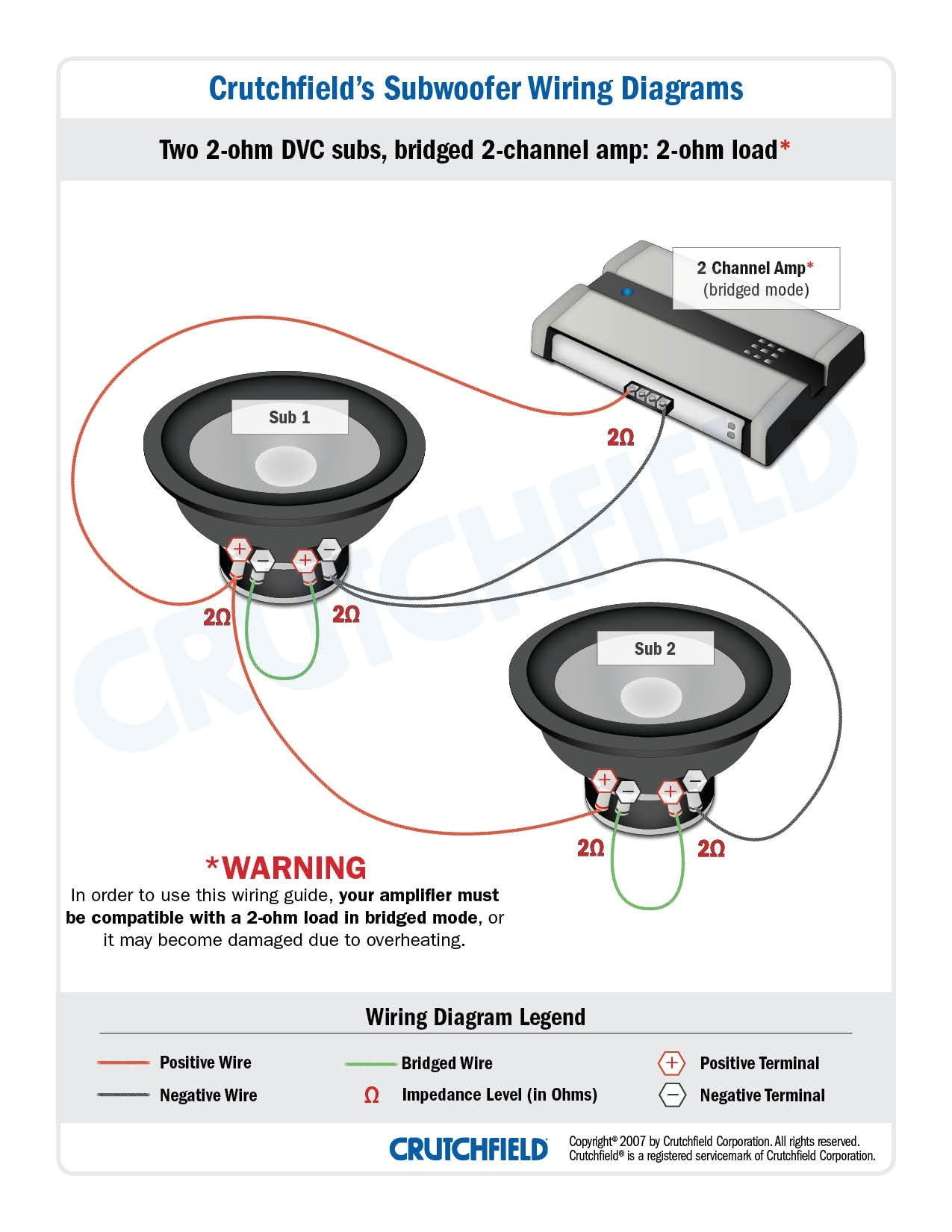 1 ohm speaker wiring diagram