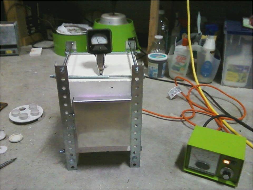 homemade electric kiln