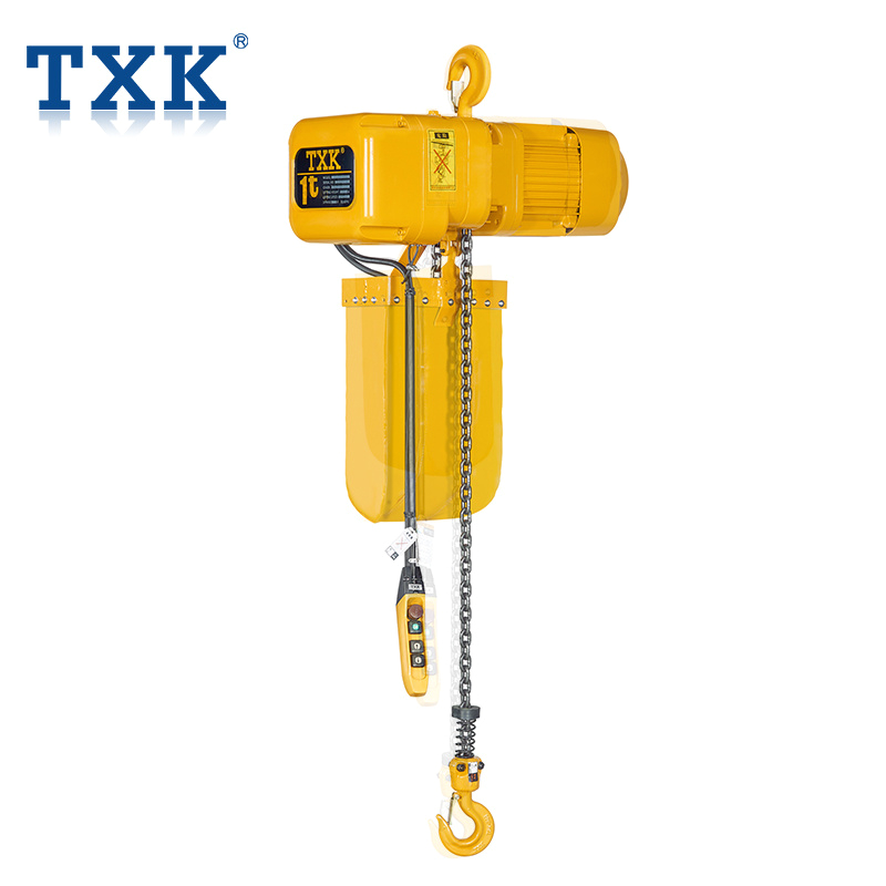 txk m series electric chain hoist with hook