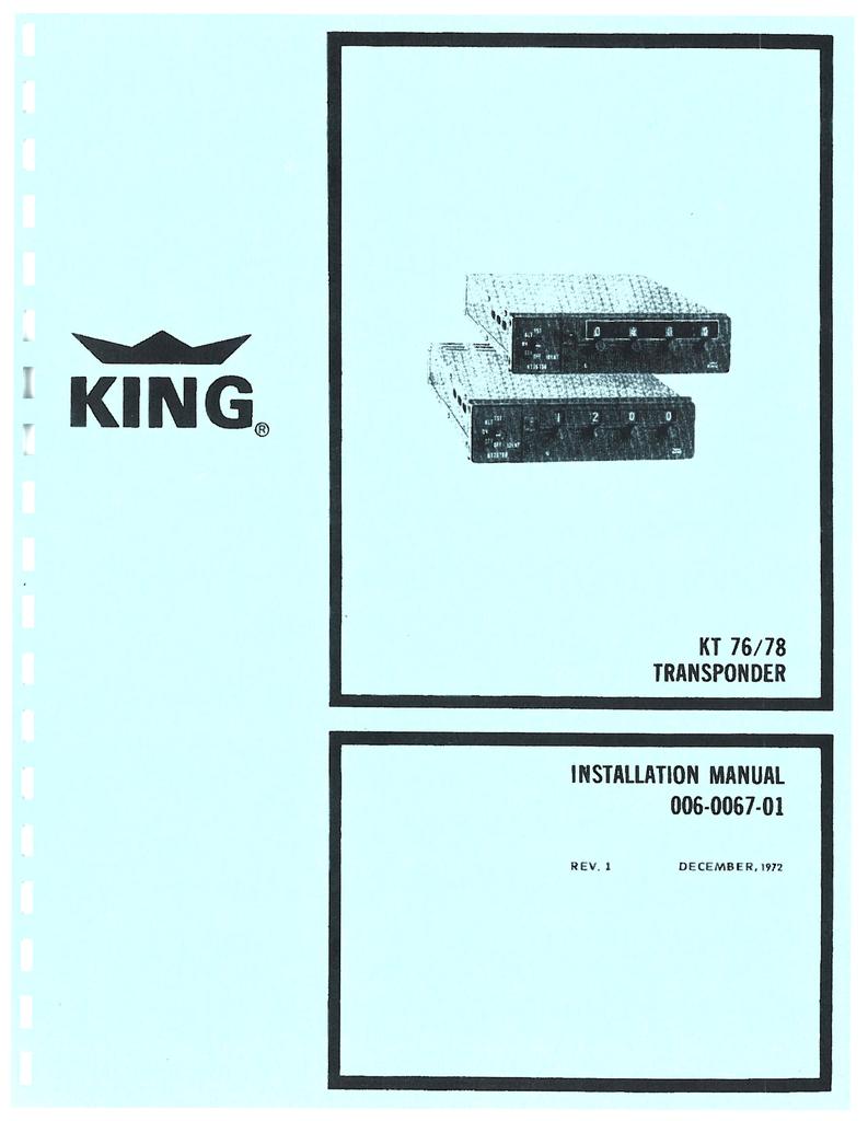 Kma 24h Wiring Diagram Bendixking Ky 97a Installation Manual Manualzz Com