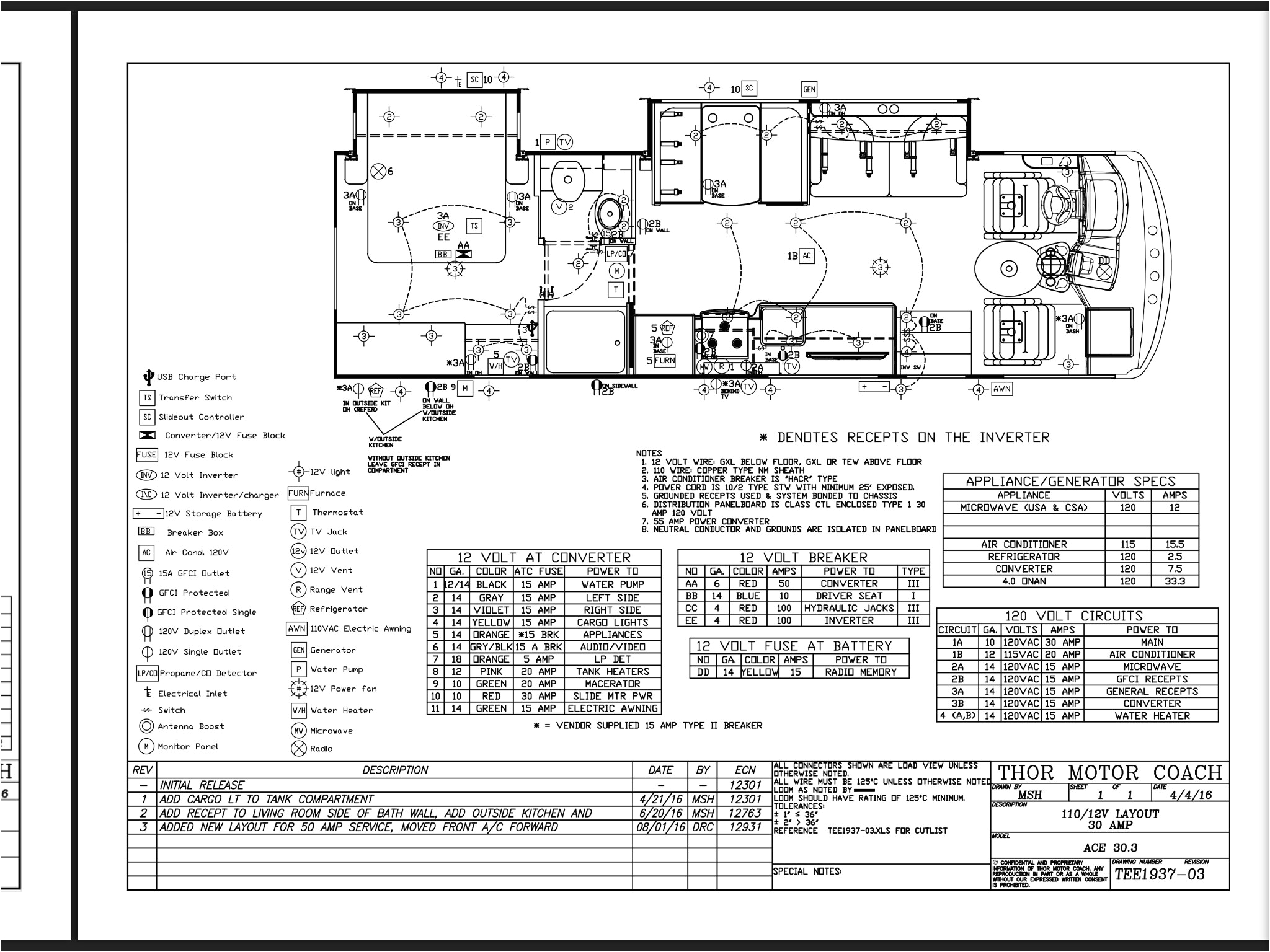 2018 thor a c e 30 3 electrical diagram thor forums fleetwood rv wiring diagram this image has