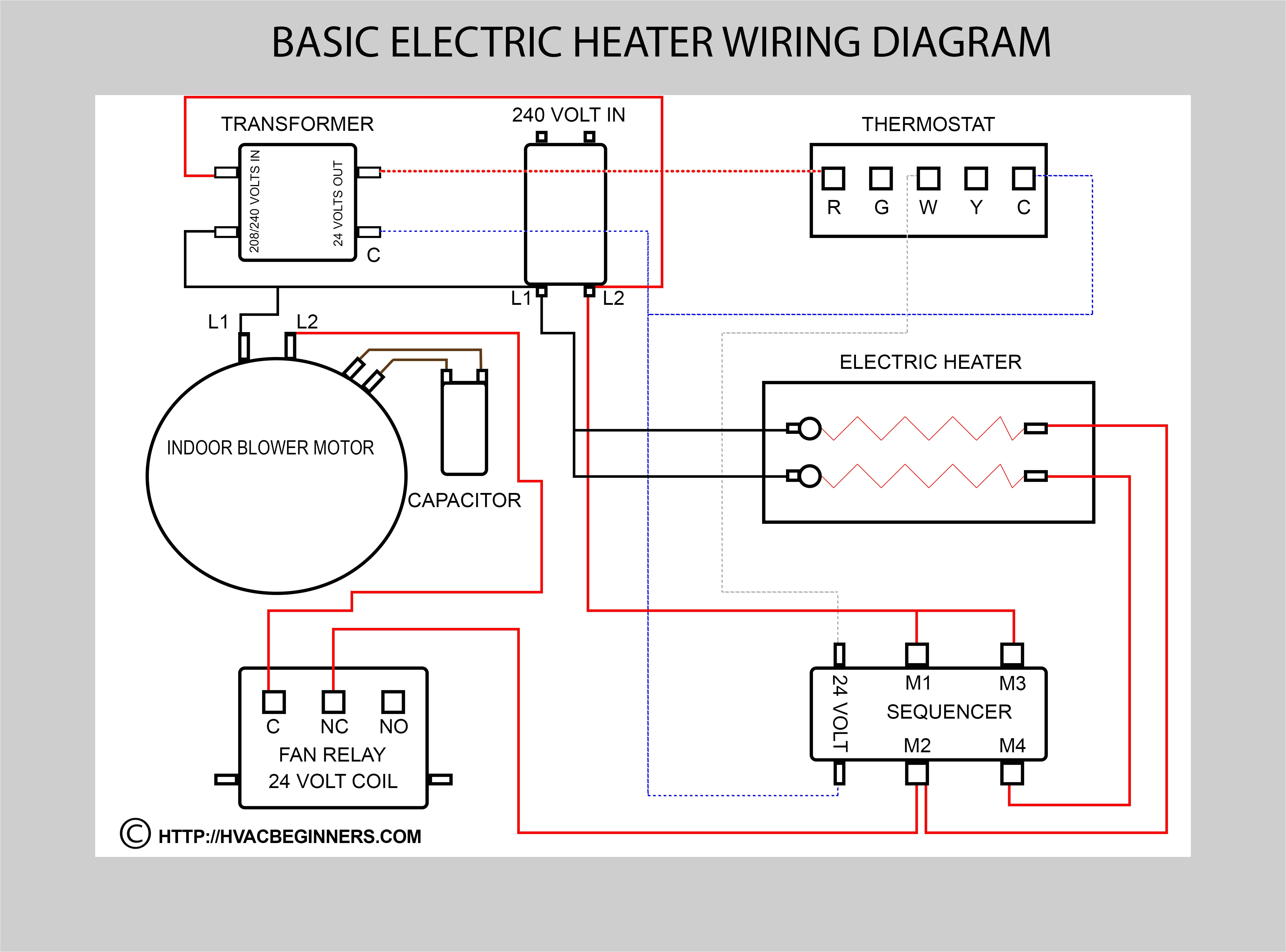 heater wiring diagram just wiring data rh ag skiphire co uk goodman gas furnace thermostat wiring