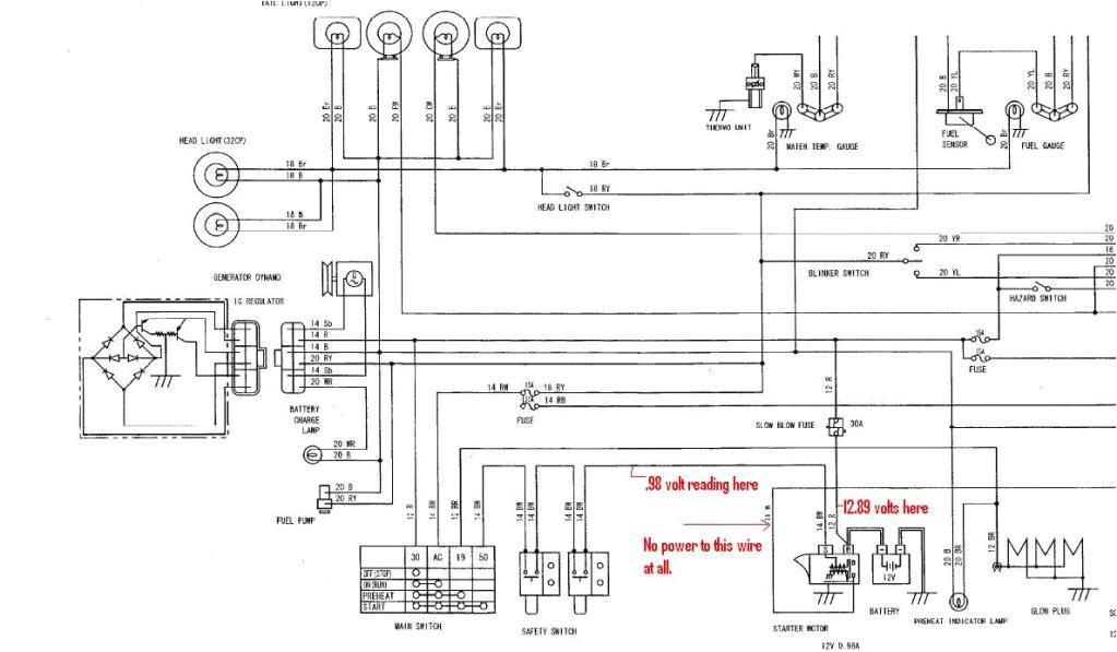 kubota l2600 wiring diagram wiring diagram autovehiclekubota b2710 tractor wiring diagram wiring diagram schkubota b7800 wiring