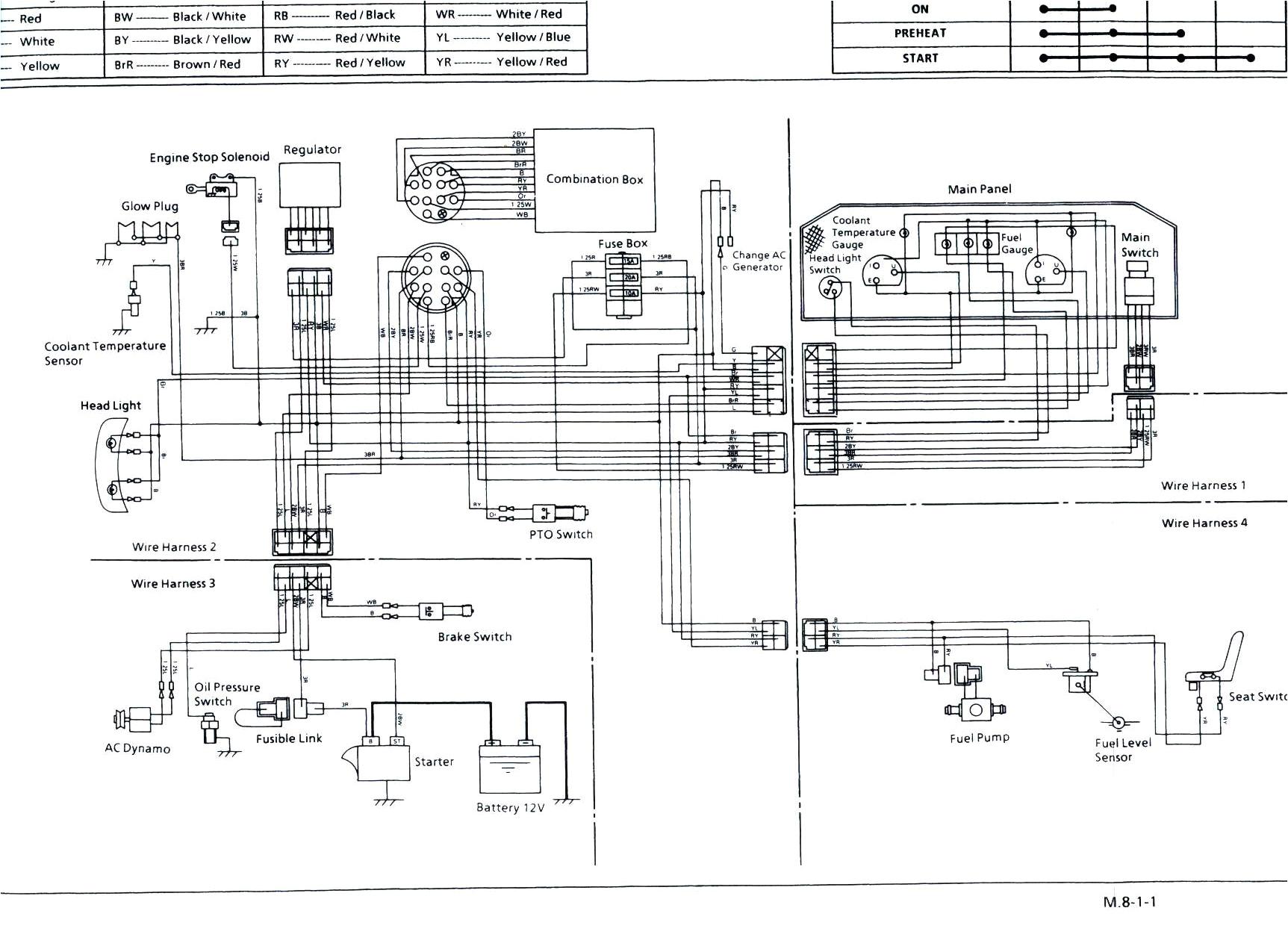 kubota mower wiring diagram wiring diagrams bibkubota diesel engine wiring diagram 9