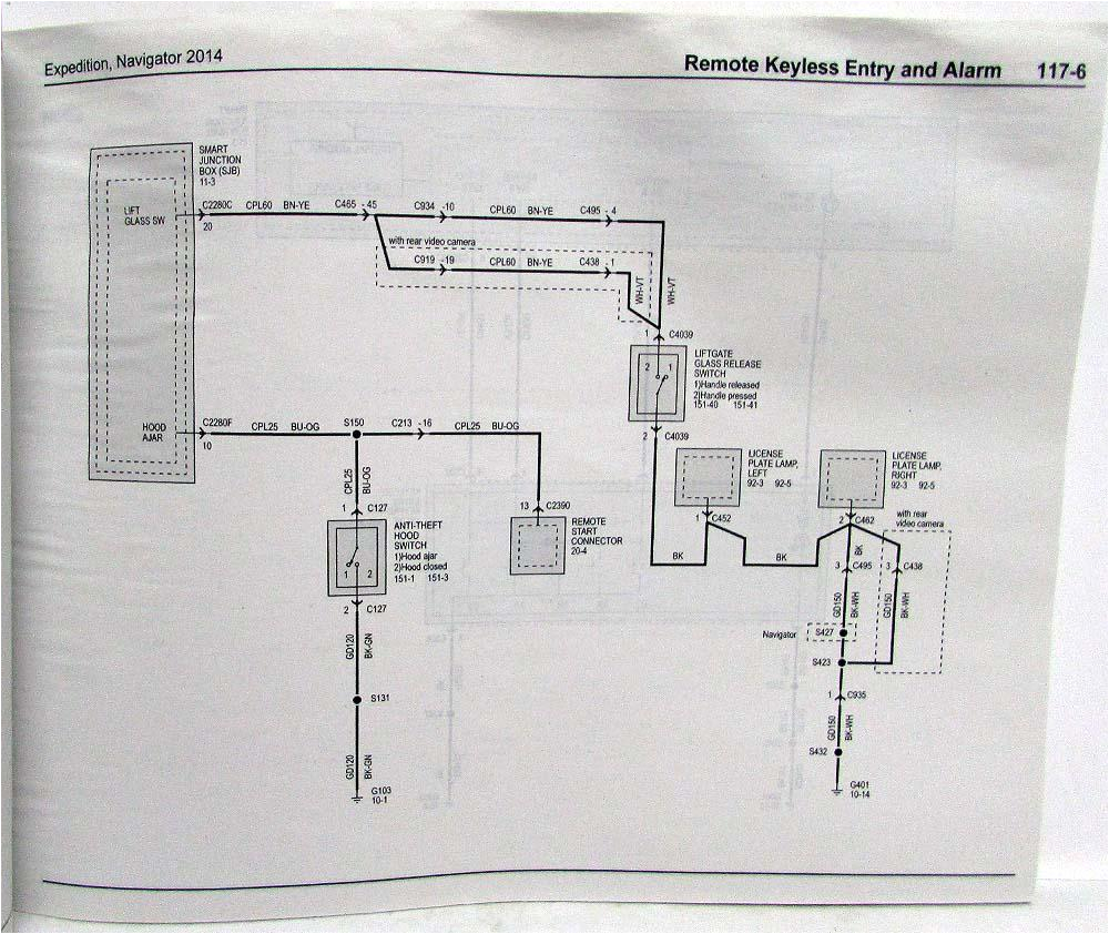 2014 ford expedition lincoln navigator electrical wiring diagrams manual
