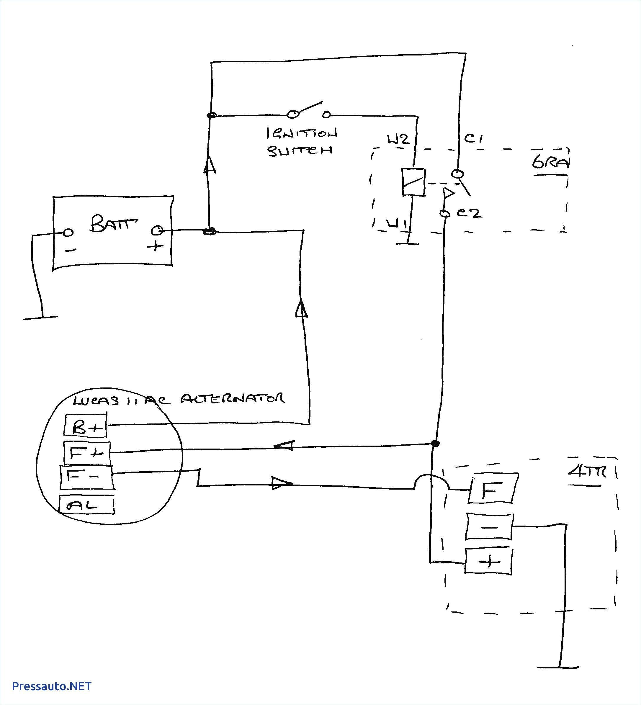 wiring diagram a127 lucas alternator wiring diagram toolbox lucas alternator wiring 15tr