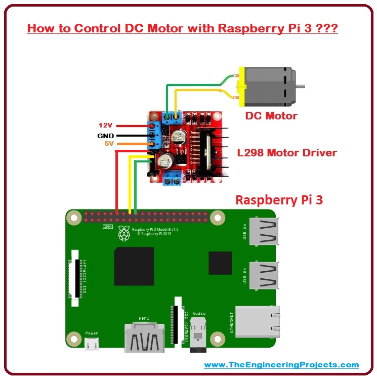 how to control dc motor with raspberry pi 3 dc motor with pi 3
