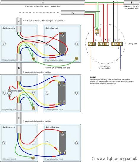 old lamp wiring diagrams