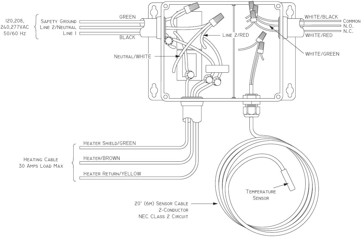 lanair waste oil heater wiring diagram
