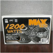 Lanzar Max Pro 15 Wiring Diagram 15 Inch Dual Car Subwoofers for Sale Ebay