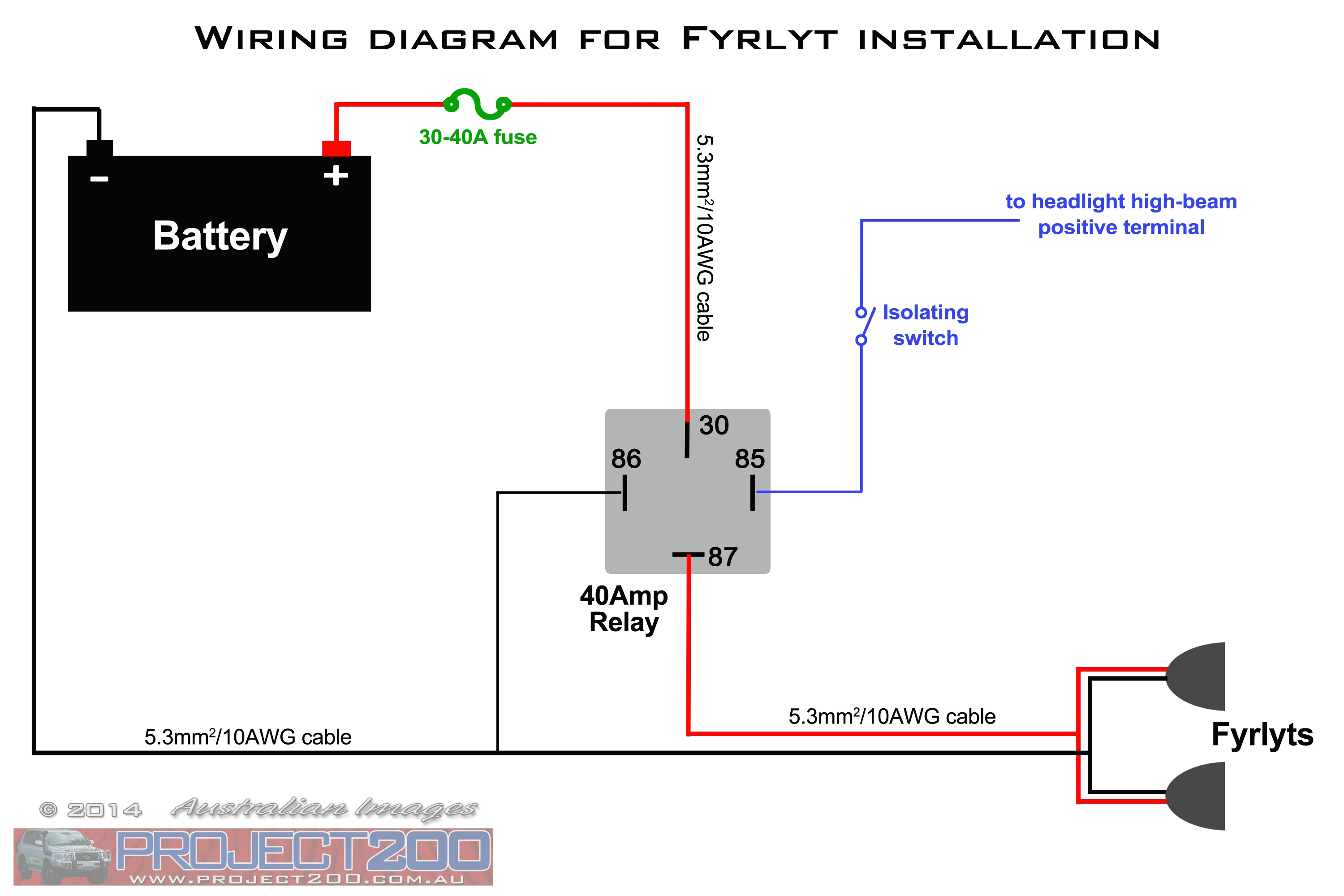 basic spotlight wiring diagram library throughout for relay spotlights jpg