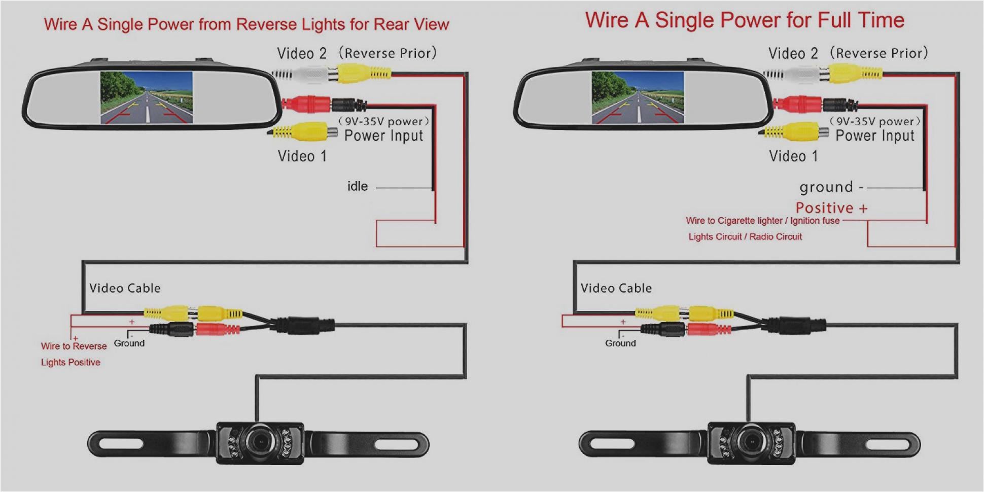 rear view camera wiring diagram motherwill com wiring diagram for car reverse camera rear view camera